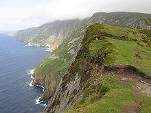 アイルランド島の地形形成の歴史