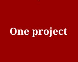 第2回One project開始