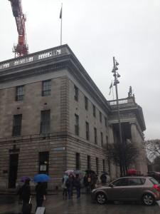 アイルランドの郵便局