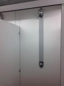 アイルランドジムのシャワー
