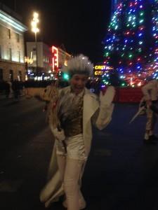 ダブリン観光クリスマスのオコンネルストリート
